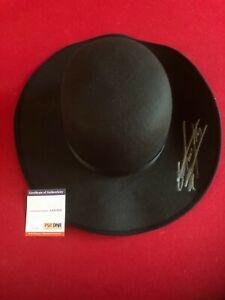 "UNDERTAKER, ""Autographed"" (PSA / DNA ITP) WWE Round Hat (Scarce / Vintage)"