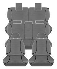 FULL CAR PACK 14oz CANVAS SEAT COVERS FOR TOYOTA PRADO GX GXL KAKADU 10-ON