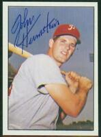 Original Autograph of John Herrnstein of the Phillies on a 1978 TCMA Card