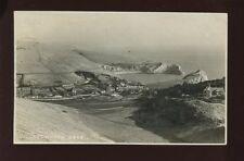 Dorset LULWORTH Cove & village c1920/30s? RP PPC local publisher C.&S.Kestin