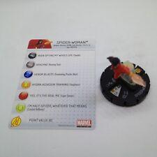 Heroclix Chaos War set Spider-Woman #037 Rare figure w/card!
