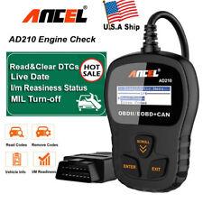 OBD2 Scanner Code Reader Car Check Engine Fault Diagnostic Tool I/M Readiness US