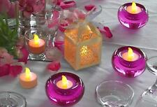 30 LED FLICKERING TEA LIGHT TEALIGHT CANDLES & LANTERNS WITH BATTERY  WEDDING