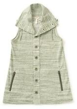 Matilda Jane OUT THE DOOR VEST Small Womens 4 6 Gray Knit Adventure Begins NWT