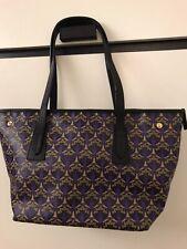 LIBERTY LONDON Marlborough Iphis Canvas Tote Bag Purple