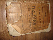 1922 Deering Harvesting Machines & Attachments Repair Parts Catalogue Price List