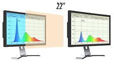 """Blaulichtfilter - Displayschutzfolie Screen Protector für Monitore 22"""" 16:10"""