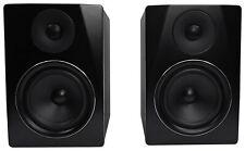 "Rockville APM6B 6.5"" 2-Way 350W Active/Powered USB Studio Monitor Speakers Pair"