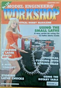 Model Engineers' Workshop Magazine No.133 Christmas 2007 good condition 1st Post