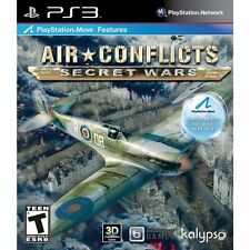 Air Conflicts: Secret Wars  (Playstation 3, 2011)*new,sealed*