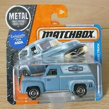 Matchbox 17/125 - '55 Ford F-100 Delivery Truck on Short Back Card (MB223)