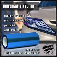 "Blue Protective Vinyl Film Tint Headlight Taillight Fog Wrap 12""x48"" / 1 x 4 FT"
