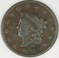 1833 Coronet Head Large Cent. Choice XF. RAW4000/JLN