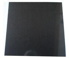 Plaque Carbone 250 mm x 250 mm épaisseur 2 mm