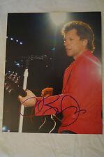 Jon Bon Jovi - Colour Concert Photo - Signed Personally by Jon w/ COA