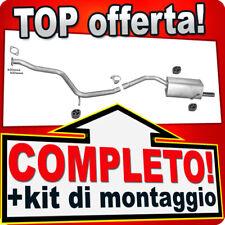 Scarico Completo ALFA ROMEO 156 1.9 JTD 3-Volumi Familiare 1997-2001 L08