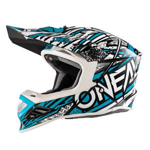 Oneal / O'Neal 8series Synthy Mint Helm Crosshelm MX Motocross Cross Enduro