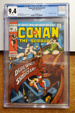 Conan the Barbarian #6 (6/71) White Pages CGC 9.4 NM