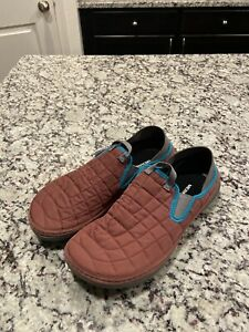 Merrell Mens Hut Moc Loafers Moccasins Shoes Blue Collapsible Heel NWT Men's 10