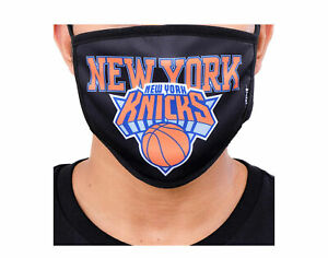 Pro Standard NBA New York Knicks BLK Face Covering Mask - 2 Pack BNK751423-BLK