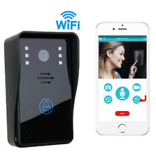 Smart Wireless WiFi Video Camera Door Phone Doorbell Intercom Monitor Security