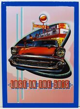 Lost in the Fifties Hot Rod Cars Metal Sign