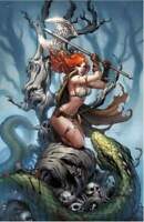 Killing Red Sonja #1 Sabine Rich Virgin Variant Cover