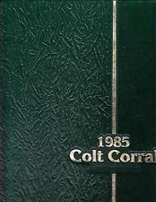 ARLINGTON H.S. ANNUAL, ARLINGTON, TX - THE COLT CORRAL - 1985