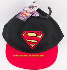 Kids Official DC Comics Classic Superman Shield Logo Snapback Baseball Hat Cap