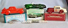 3 New in Box Avon Decanters/Full '48 Chrysler Town & Country, 36 Ford & 53 Buick