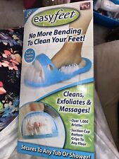 Easy Feet You Get As Seen on Tv Shower Foot Wash Scrubber Brush Massages