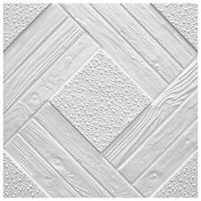 10 Qm Pannelli per Soffitto Decorativi Polistirolo Deckenfliesen 50x50cm duet