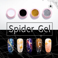 UR SUGAR 5ml 2 Boxes Nagel Gellack Spider UV Gel Soak Off Nail Art Gel Polish