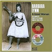 "BARBARA LYNN  ""A GOOD WOMAN - THE COMPLETE TRIBE & JET STREAM RECORDINGS 66-79"""
