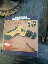 4.8v cordless screwdriver x 2