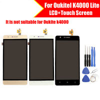 For Oukitel K4000 Lite LCD Display Touch Screen Assembly  Digitizer  Free Tools