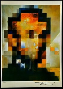 Salvador Dali Lithographie Limitierte Auflage Nr. 10/350