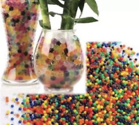 10000 Water Beads Multi Aqua Gel Crystals Bio Gel Balls Wedding Vase Centrepiece