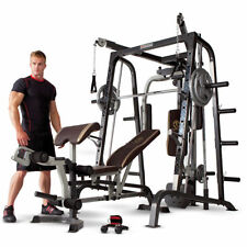 Impex MD-9010G Home Gym Marcy Diamond Elite Smith Total Body Work Out Machine