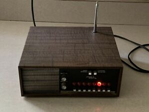 Vintage Regency Monitoradio Executive Police Scanner Radio 8 Channels Clean