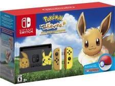 Nintendo Switch - Pikachu & Eevee Edition with Pokémon: Let's Go, Eevee! + Poké Ball Plus Console Bundle