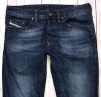 Mens DIESEL Buster Jeans W32 L30 Blue Regular Slim Tapered Wash 0831Q
