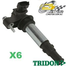 TRIDON IGNITION COIL x6 FOR Holden  Rodeo RA03 12/05-01/07, V6, 3.6L HFV6