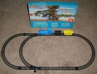 VINTAGE NOS 70s LIDO BATTERY OPERATED WESTERN EXPRESS TRAIN SET COMPLETE BOXED