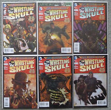 "THE WHISTLING SKULL ""BIG DIRT NAP"" #1-6 SET..B. CLAY MOORE..TONY HARRIS..DC..NM"