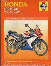 2004-2010 HAYNES HONDA MOTORCYCLE CBR125R OWNERS SERVICE MANUAL  (4620)