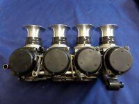 Yamaha R1 4XV Carburettor Velocity Stack Trumpet Kit, 90mm Length, Bike Carbs