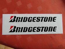 Vintage Pegatina de Bridgestone Acabado Brillante x 2