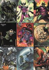 Fantastic 4 Archives N1-N9 Nemesis card set