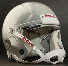 Riddell Revolution SPEED Classic Football Helmet (EXTRA BRIGHT METALLIC SILVER)